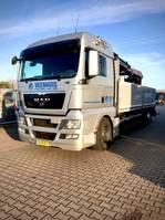 camion della gru MAN TGX 26.440 6X2-2BL 2012