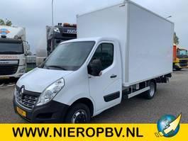 closed box truck Renault master bakwagen laadklep airco nieuw 235cmhoog 213 breed 423cm lang 2019