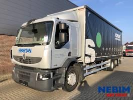 sliding curtain truck Renault Premium 300 Euro 5 6x2 - 568.612KM 2007