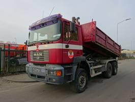 tipper truck > 7.5 t MAN FE 410 6X6 KIPPER / MANUAL / STEEL / EURO 2 !! 2001