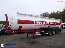 tank semi trailer semi trailer Feldbinder Powder tank alu (tipping) 63 m3 2001
