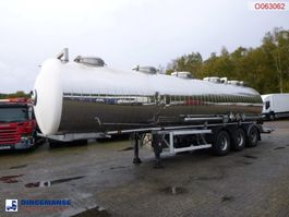 tank semi trailer semi trailer MAISONNEUVE Chemical tank inox 32.4 m3 / 1 comp 1995