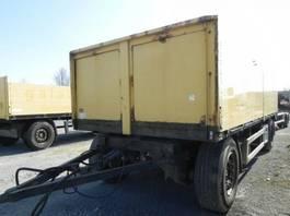 drop side full trailer Renders Pritschenanhänger N02A21-V Baustoffanhänger 2000