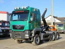 container truck MAN TGS 26.540 6x6 Abrollkipper Meiller 2012