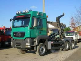 container truck MAN TGS 26.540 6x6 Abrollkipper Schalter, Meiller 2013