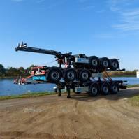 container chassis semi trailer D-TEC Flexitrailer 2020