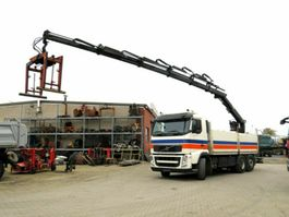 crane truck Volvo FH FH13 420 6x2 Pritsche Heckkran Hiab 166, 5xhy