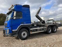 container truck Volvo FMX 500 6X4 BB Haaksysteem 25 ton  2013 2013