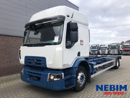 chassis cab truck Renault D19 Wide 320 Euro 6 - 394.700KM 2016