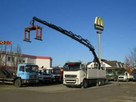 crane truck Volvo FH 420 FH13 6x2 Pritsche Heckkran Hiab 166, 5xhy 2013