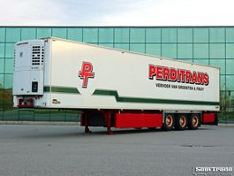 refrigerated semi trailer Chereau P0303 THERMO KING SL200e BPW AXLES DISC BRAKES FULL CHASSIS 2004