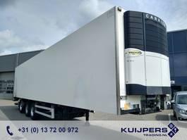 refrigerated semi trailer Van Eck UT-3BI 3-Assige Koeloplegger / Stuuras / Laadlift / Vector 1800 / APK-TUV 2006
