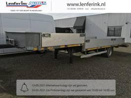 Minisattel Auflieger VAN den oever traile 700-1d/ 220lzs BE trailer oplegger machine transporter 2008
