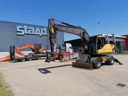 wheeled excavator Volvo EW180 C Mobile excavator 2008