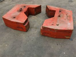 other equipment part Faun ATF 60-4 counterweight 0,5+0.16 t