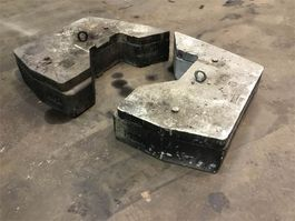 other equipment part Faun ATF 60-4 counterweight 0,51+0,16 t