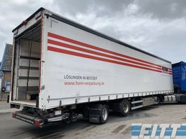 sliding curtain semi trailer Ackermann 2 ass gestuurde MEGA schuifzeilen, ov klep 2010