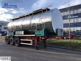 Container-Fahrgestell Auflieger Dennison Container Bitum tank, Isolated, 27100 Liter, 150c, 4,5 Bar, 20 FT Container 2001
