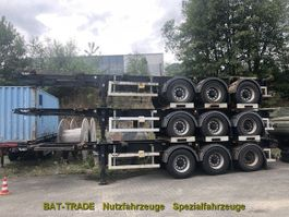 container chassis semi trailer LAG LAG 0-3-39 20/30ft ADR Tank Container Chassis 2008