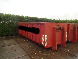 Reststoffcontainer Grond/Puin/Bagger