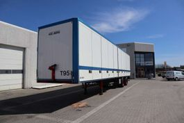 sliding curtain semi trailer Kel-Berg 34 pl. 2012