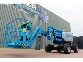 articulated boom lift wheeled Genie Z45/25 XC Diesel, 4x4 Drive, 16 m Working Height, 2018