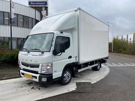 closed box truck FUSO CANTER 2020