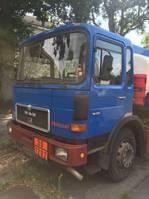 tank truck MAN 16-170 Tank  German Truck 12400  L  TOP 1986