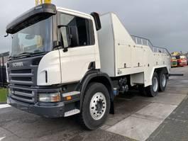 car transporter truck Scania P380 6X4 NEW TOW TRUCK + MANUAL + FULL STEEL + RETARDER