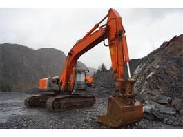 crawler excavator Hitachi Zaxis ZX280LC-3 Gravemaskin med rotortilt og pusse 2007