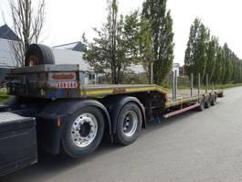 semi lowloader semi trailer Nooteboom 3 ASSIGE  SEMIE DIEPLADER / UITSCHUIFBAAR 2003