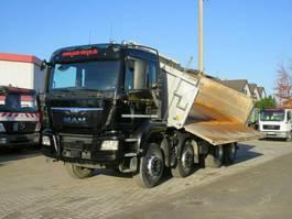 tipper truck MAN TGS 35 8x4 BB 4-Achs KipperBordmatik Schalt 2016