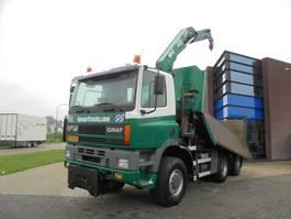 LKW Kipper > 7.5 t Ginaf M3333-S / 6X6 / Tipper / Crane / NL Truck 2000