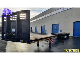 flatbed semi trailer KAESSBOHRER SPAX Flatbed