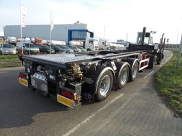 container chassis semi trailer Feldbinder 30 ft tipping rotory valve adr 2007