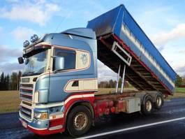 tilt truck Scania R-500 6X2 4700 2005