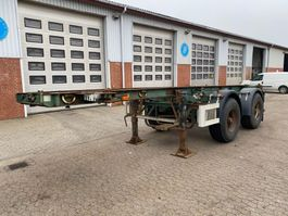 container chassis semi trailer Pacton Container chassis 1996
