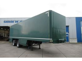 closed box semi trailer Tracon Geïsoleerde Gesloten Trailer / 2as / Laadklep 1998