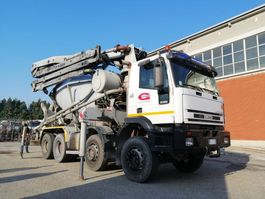concrete pump truck Iveco Eurotrakker 410E44-8X4 BETON POMPA CIFA