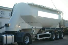 feed semi trailer Feldbinder EUT 37.3 Zementsilo Liegend Alufelgen 2012