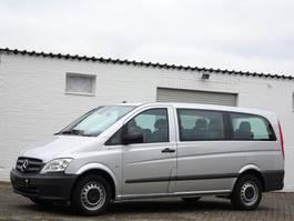 Minivan - Personenwagen Mercedes-Benz Vito 113 Cdi Lang 9 Sitze Leder Klima Automatik Euro 5 2012