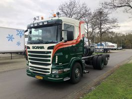 chassis cab truck Scania R440 B 6X2*4 2011