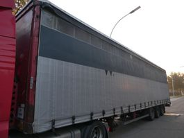 sliding curtain semi trailer KAESSBOHRER ME MEGA 2008