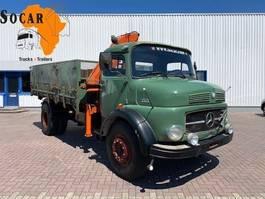 tipper truck > 7.5 t Mercedes-Benz 1513  4x2 Tipper with Hiab 55 crane 1970