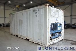 Kühlwagen-gekühlt Versandcontainer Hyundai 20ft REEFER CONTAINER   CARRIER THINLINE 1996