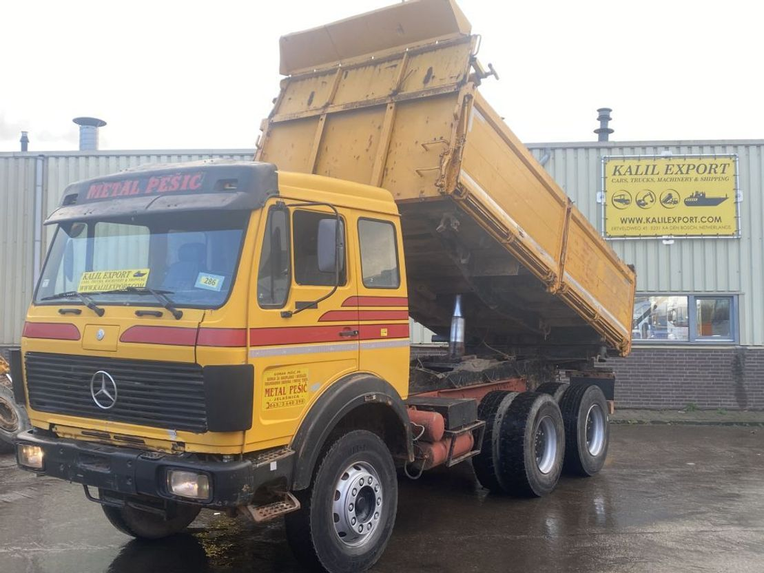 Mercedes Benz 2635 Kipper 6x4 V8 Zf Big Axle S Good Condition Tipper Truck 7 5 T Trucksnl