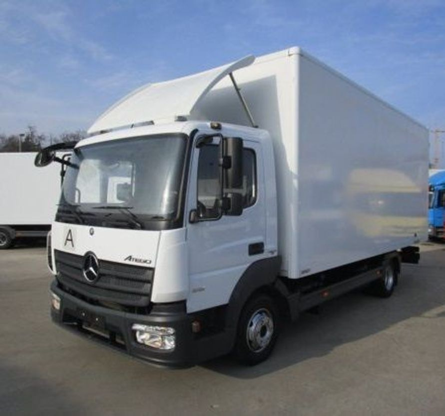 closed box truck > 7.5 t Mercedes-Benz ATEGO 816  EURO 6!!  €37.250 EX BTW 166000km 2015