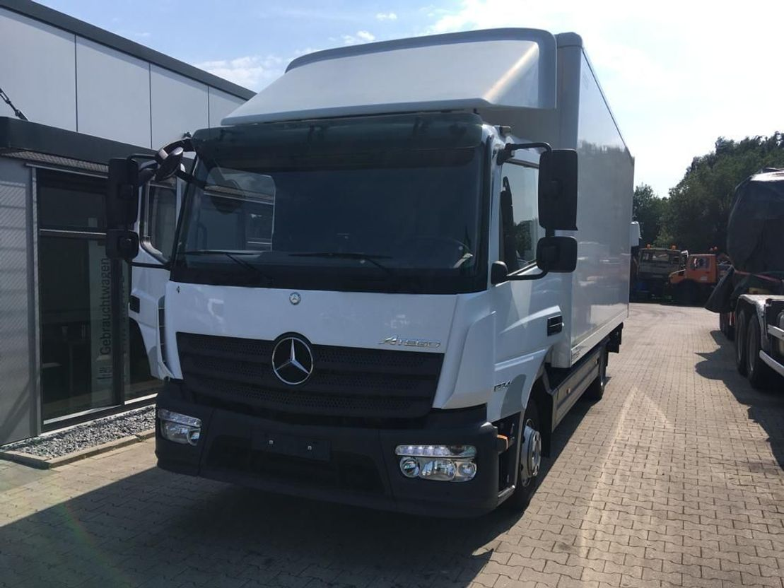 closed box truck > 7.5 t Mercedes-Benz Atego 1224  EURO 6  188000km 2014