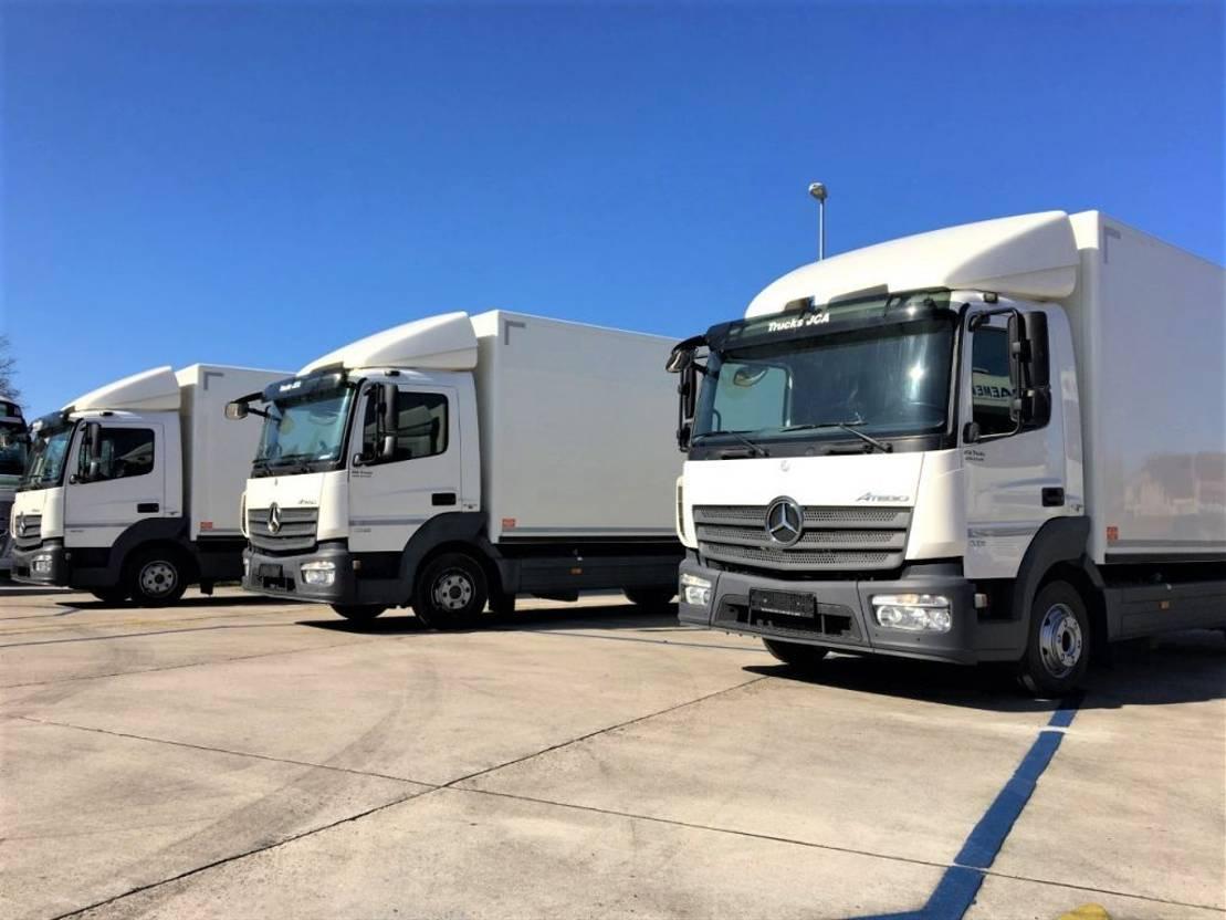 closed box truck > 7.5 t Mercedes-Benz atego 916  Meerdere in stock!!   EURO 6  vanaf €22.900!! 2013