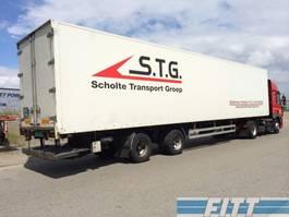 refrigerated semi trailer Pacton 2ass gestuurde ISO oplegger 1998
